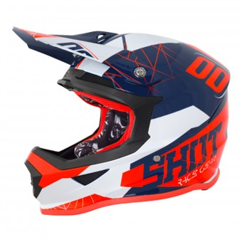 Casque Enfant SHOT Furious Spectre Black Orange Enfant