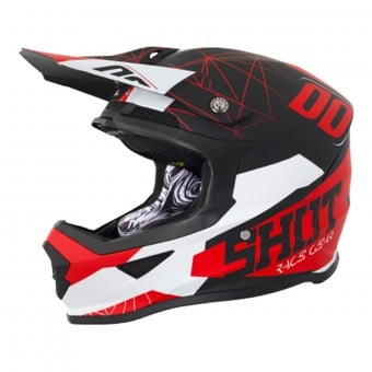 Casque Enfant SHOT Furious Spectre Black Red Enfant