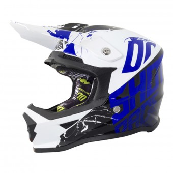 Casque Enfant SHOT Furious Venom Black Blue Enfant