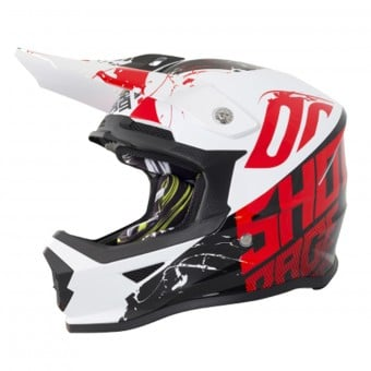 Casque Enfant SHOT Furious Venom Black Red Enfant