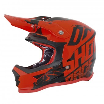 Casque Enfant SHOT Furious Venom Neon Orange Enfant