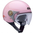 Casque Enfant Givi HPS Junior Rose Brillant