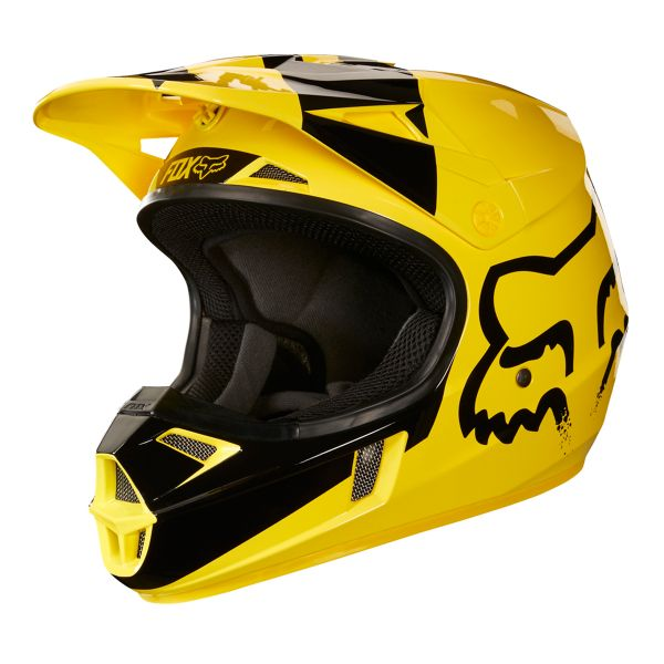 Casque Enfant FOX V1 Mastar Yellow Enfant
