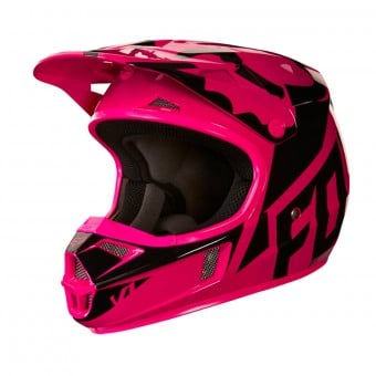 Casque Enfant FOX V1 Race Black Pink Enfant