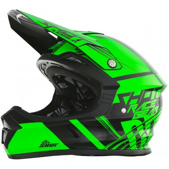 Casque Enfant SHOT Furious Claw Neon Green Enfant