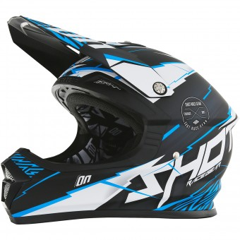 Casque Enfant SHOT Furious Infinity Blue Matt Enfant