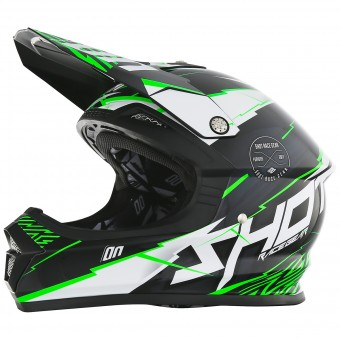 Casque Enfant SHOT Furious Infinity Green Enfant