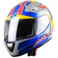 Casque moto Astone GTO Kids Avus Blue Yellow