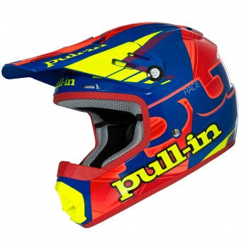 Casque Enfant pull-in Pull-in Blue Neon Orange Yellow Enfant