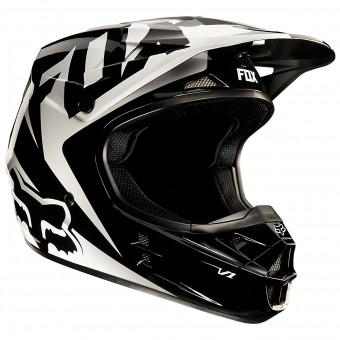 Casque Enfant FOX V1 Race Black Enfant (001)