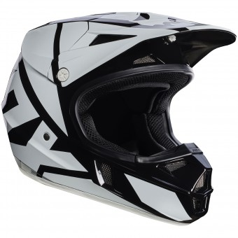 Casque Enfant FOX V1 Race Black Enfant 001