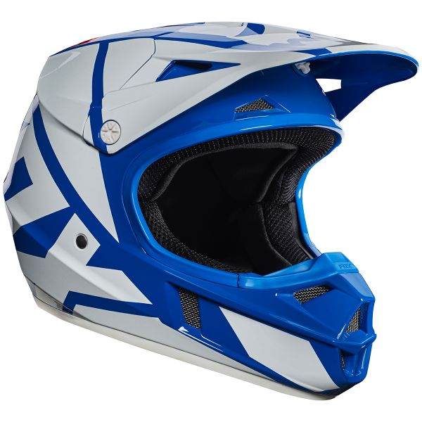 Casque Enfant FOX V1 Race Blue Enfant 002
