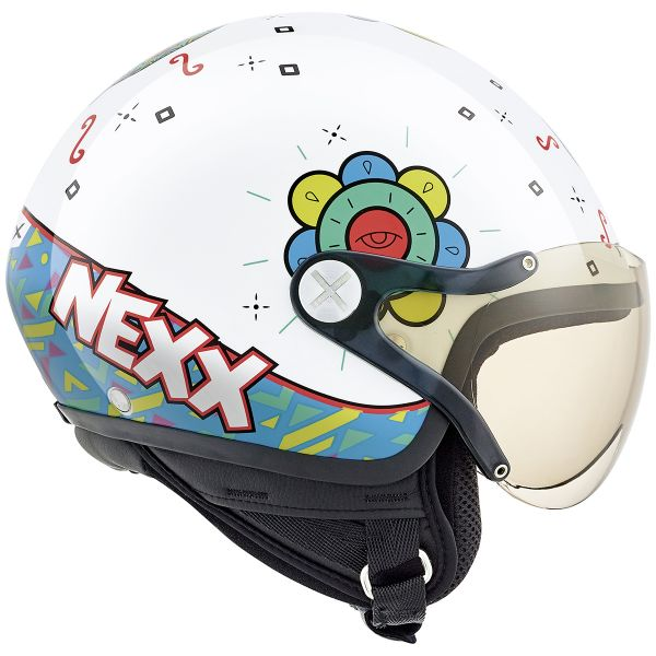 Casque Enfant Nexx X60 Kids Goomy White