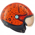 Casque Enfant Nexx X60 Kids Spock Neon Orange