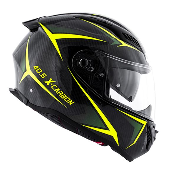 Casque Integral Givi 40.5 X-Carbon Neon Yellow