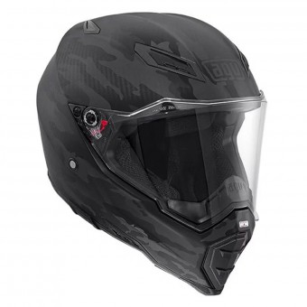 Casque Integral AGV AX-8 Naked Carbon Fury