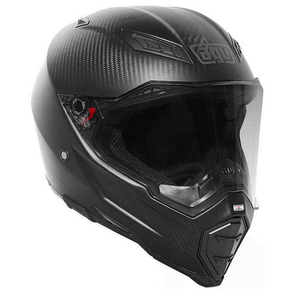 Casque Integral AGV AX-8 Naked Matt Carbon