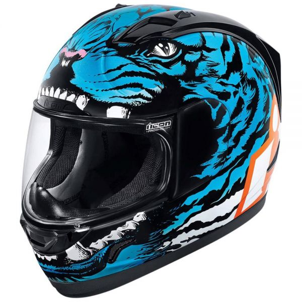 Casque Integral ICON Alliance Berserker Blue
