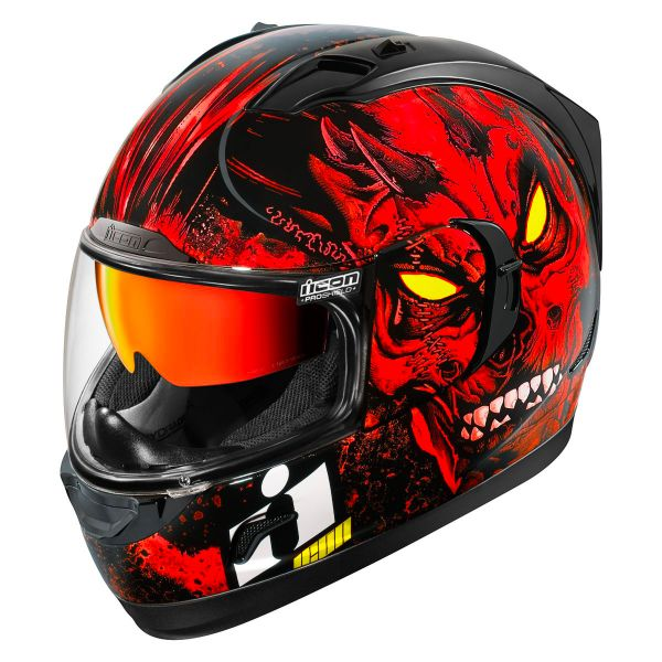 Casque Integral ICON Alliance GT The Horror Red