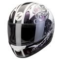 Casque moto Scorpion EXO 410 Air Sprinter Blanc Cam