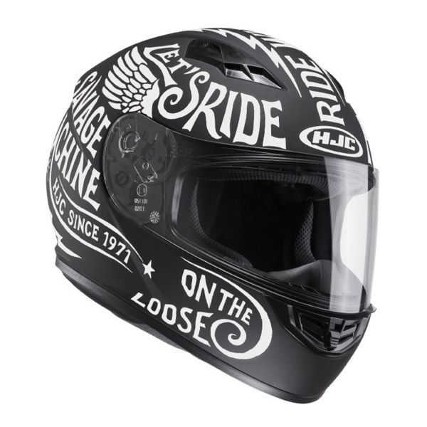 Casque Integral HJC CS-15 Rebel MC10F