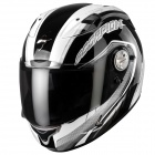 Casque Integral Scorpion EXO 1000 Air E11 Pipeline Noir Argent