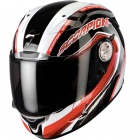Casque Integral Scorpion EXO 1000 Air E11 Pipeline Noir Rouge