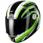 Casque Integral Scorpion EXO 1000 Air E11 Pipeline Noir Vert
