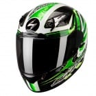 Casque Integral Scorpion EXO 2000 Air Shifter Noir Vert