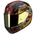 Casque moto Scorpion EXO 410 Air Hell Hound Noir Mu
