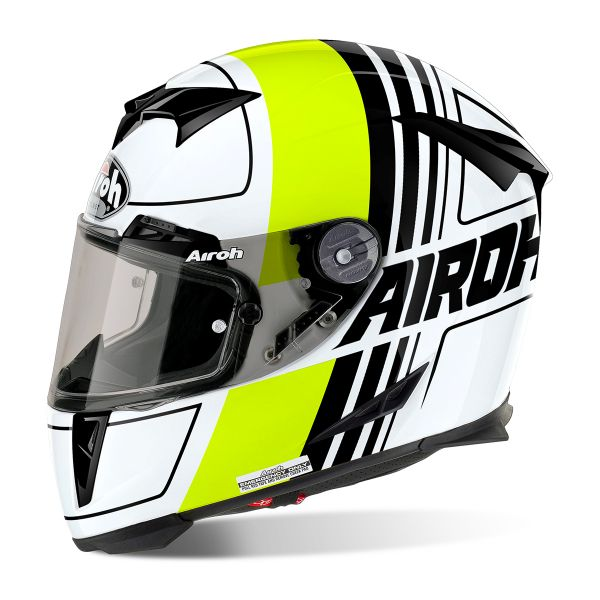 Casque Integral Airoh GP 500 Scrape Yellow