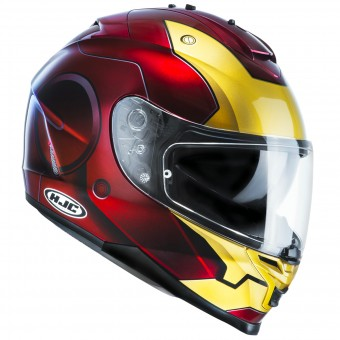Casque Integral HJC IS17 Iron Man MC1