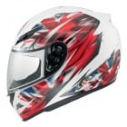 Casque Integral AGV K3 Multi UK Flag White Gunmetal