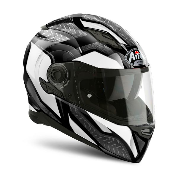 Casque Integral Airoh Movement S Steel White
