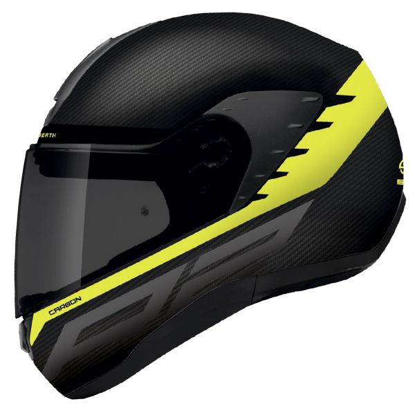 Casque Integral Schuberth R2 Carbon Bold Yellow