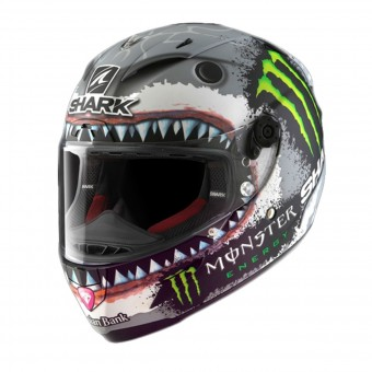 Casque Integral Shark Race-R Pro Replica Lorenzo White Shark