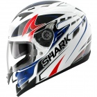 Casque Integral Shark S 700 S Stipple WBR