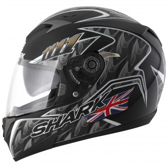 Casque Integral Shark S700 S Foggy Mat 20th Birthday KBS Pinlock