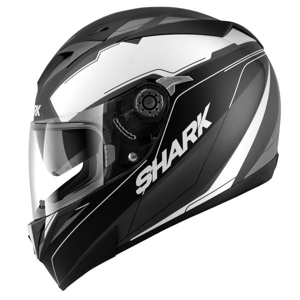 Casque Integral Shark S700 S Lab Mat KWA Pinlock