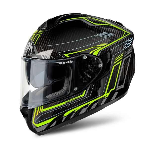 Casque Integral Airoh ST 701 Safety Full Carbon Yellow