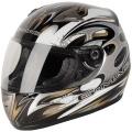 Casque moto G-MAC Scirocco Argent Or