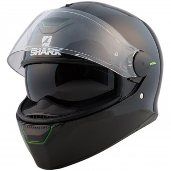 Casque Integral Shark Skwal Blank BLK