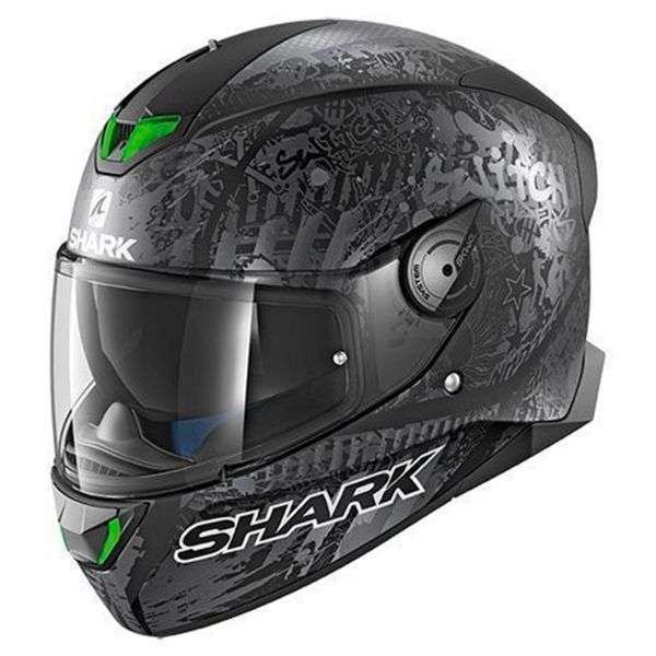 Casque Integral Shark Skwal 2 Replica Switch Riders 2 Mat KAS