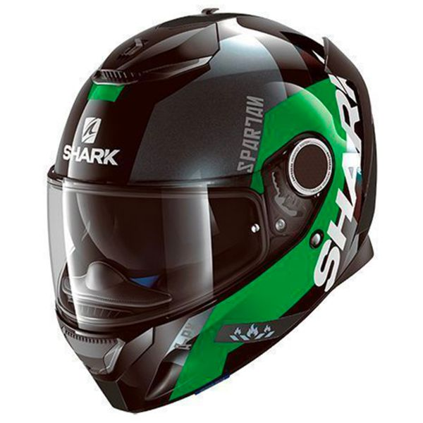 Casque Integral Shark Spartan Apics KGS