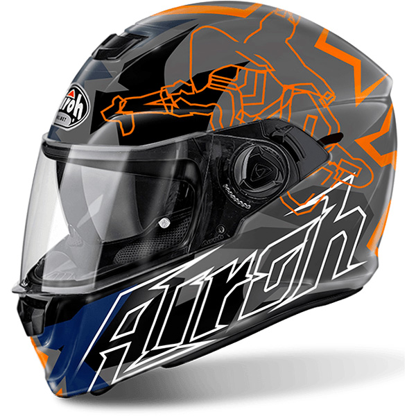 Casque Integral Airoh Storm Bionikle Gloss