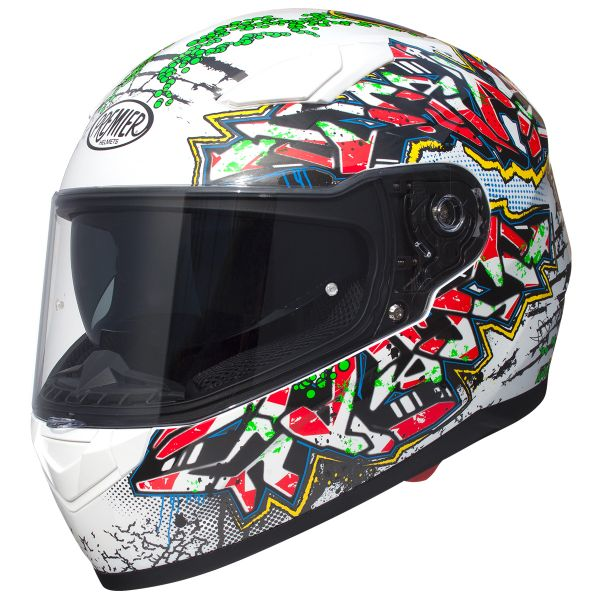 Casque Integral Premier Viper GR8 White
