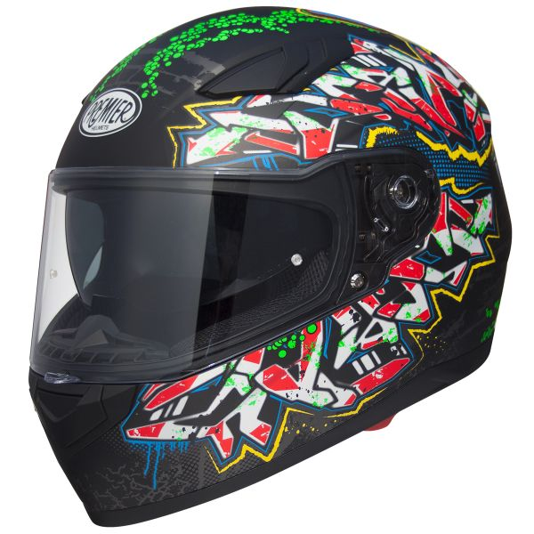 Casque Integral Premier Viper GR9BM Black Matt