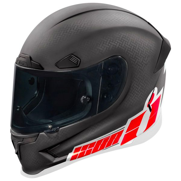 Casque Integral ICON Airframe Pro Flash Bang Carbon Red