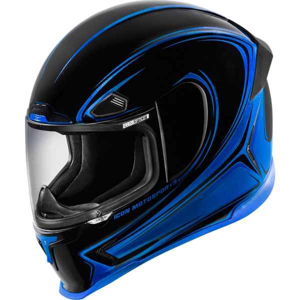 Casque Integral ICON Airframe Pro Halo Blue