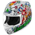 Casque Integral ICON Airmada Lucky Lid 2 White